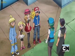 Pokémon XY Dublado - Episodio 29 - Heróis Amigos ou Inimigos?