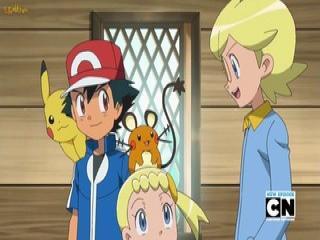 Pokémon XY Dublado - Episodio 38 - Forjando Amizades na Floresta!