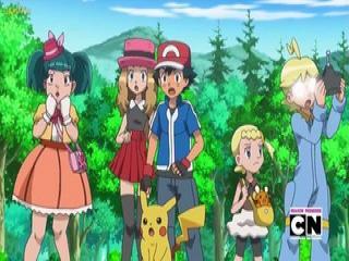 Pokémon XY Dublado - Episodio 50 - Caminhos Para Parceria de Apresentação!
