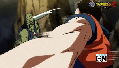 Dragon Ball Super Dublado – Episódio 104 – Batalha em alta velocidade! Goku e Hit unem forças!