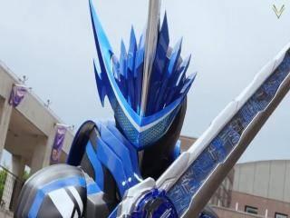 Kamen Rider Saber - Episódio 2 - Um Espadachim das Águas, Montado Em Um Leão Azul
